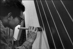 Frank Stella, New York, 1965 by Ugo Mulas