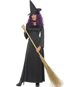 Black Witch Womens Costume