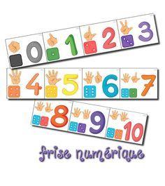 223 best Montessori Ziffern/Zahlen & Erstes Rechnen images on ...
