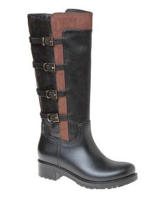 Another great find on #zulily! Black Maui Rain Boot by Passions Footwear #zulilyfinds