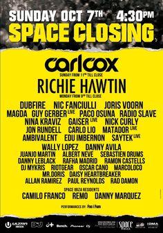 Space Closing Fiesta 7-10-2012