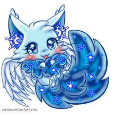 [Adoptable] Dreamkit : Snow Flower by Sarilain