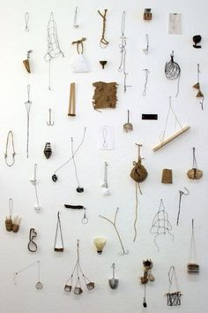 """alex-quisite: """" Abby Sherrill, Spoon Collection masturbate your eyes! Contemporary Jewellery, Contemporary Art, Instalation Art, A Well Traveled Woman, Spoon Collection, Collections Of Objects, Wire Art, Textile Art, Weaving"""