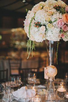 Wedding reception - Centerpiece