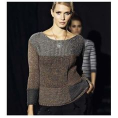 Pullover in Lana Grossa Roma. Discover more Patterns by Lana Grossa at…: Cardigan Sweaters For Women, Knit Cardigan, Knitting Supplies, Knitting Patterns Free, Knit Crochet, Summer 2015, Spring Summer, Knits, Presents
