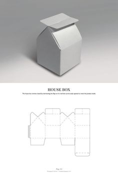 House Box - Packaging & Dielines: The Designer's Book of Packaging Dielines: