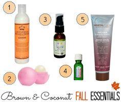 Fall Beauty Essentials!