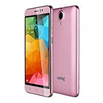 "5.5"" Phones Dual Sim Unlocked Android 5.1 Quad Core-JUNING Cellphone Pink"