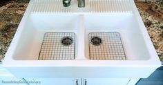 Ikea Kitchen Sink Grids - Without glamour or any proper design, kitchens were made in the past. In this world that is moder Ikea Farm Sink, Ikea Kitchen Sink, Ikea Farmhouse Sink, Corner Sink Kitchen, Life Kitchen, Diy Kitchen Cabinets, Kitchen Ideas, Free Standing Kitchen Sink, Remodeling Costs