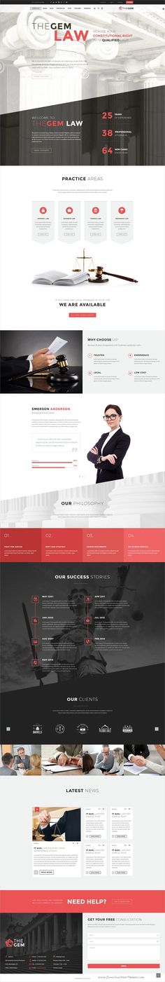 TheGem is creative multipurpose #PSD template for awesome #law firms #attorneys websites and huge variety of design or web projects with 50+ homepage layouts & 200+ layered PSD files download now➩ https://themeforest.net/item/thegem-creative-multipurpose-psd-template/19746346?ref=Datasata