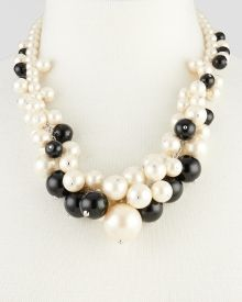 Bead Cluster Necklace, Get awesome discounts up to Off at Stein Mart using Mother's Day Promo Codes. Cluster Necklace, Pearl Necklace, Beaded Necklace, Mother's Day Special Gifts, Fashion Necklace, Pearls, Awesome, Womens Fashion, Jewelry