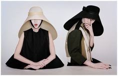 Samurai Nuns; Tim Walker for Balenciaga