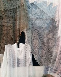 The Orenburg shawls #russia #handicraft #firebird #orenburgshawl #knitting #craftfair