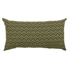 Threshold™ Outdoor Lumbar Pillow in Navy available at Target. Lumbar Pillow, Throw Pillows, Outdoor Cushions, Live In The Now, Pattern, Target, Stuff To Buy, Navy, Projects