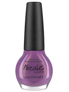 Lavender  Nicole by OPI Nail Lacquer in Purple Yourself Together,