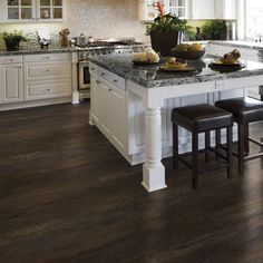 LifeProof 8.7 in. x 59.4 in. Dark Oak Luxury Vinyl Plank Flooring (21.45 sq. ft. / case)-I111311L - The Home Depot