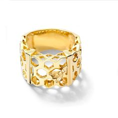 Melissae di Erice Yellow Gold Ring