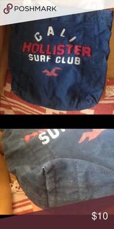 Hollister tote bag In decent condition. Slight discoloration on the bottom from use. Hollister Bags Totes