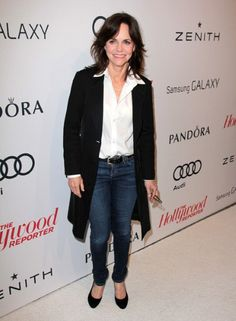 Sally Field shows that skinny jeans are not over limits if you're past 60.