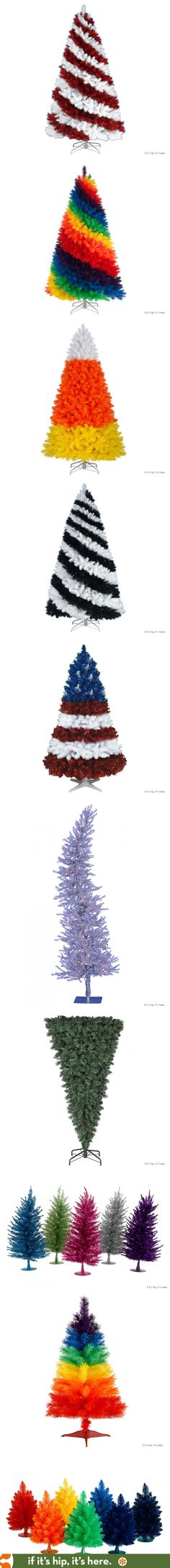 Tired of Traditional and Wooden Christmas Trees? Here are some wacky alternatives for you.