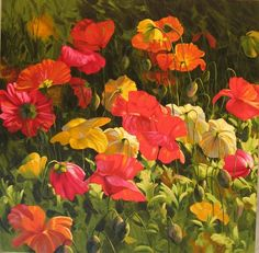 Iceland Poppies by Leon Roulette