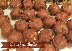 Bourbon Balls made with Woodford Reserve Great for parties, tailgating, Super Bow, Mardi Gras or for your Sweetie on Valentine's #bourbon #balls #callmepmc