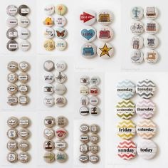 Flair Buttons Collage-Leena Loh
