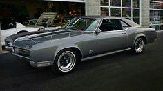 1966_black_Buick_Riviera with Keystone Klassic rims and GS