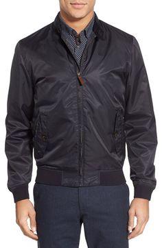 Ted Baker London Ted Baker London 'Sportiq' Modern Slim Fit Bomber Jacket available at #Nordstrom