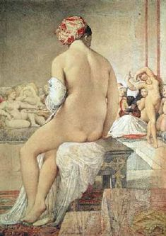 Jean Auguste Dominique Ingres - Odalisque or the Small Bather