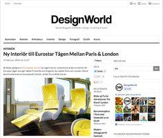 Christopher Jenner | News: Design World | Sweden | 2-2013