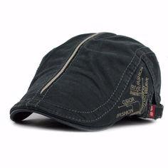 d9401b3594f New Fashion Autumn Beret Men Women Vintage Sunbonnet Newsboy Flat Causal  Driving Hats Breathable Cotton Cap