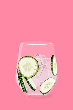 What Your Favorite Drink Says About You #refinery29 www.refinery29.co...  Cucumber WaterYou just had to do it, didn\'t you? You had water and thought, No, this life-giving liquid is not enough. You thought about lemon, but that\'s for amateurs. So you got out a cucumber, sliced it up, and let it all sit for hours until your water was perfect. Can we have some?...