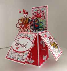 my own card in a box creation