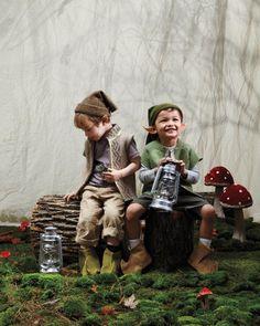 Easy Kids Halloween Costume: Enchanting Elves