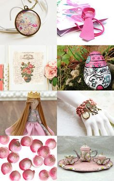 Christmas gifts for pink lovers by Gioconda Pieracci on Etsy--Pinned with TreasuryPin.com