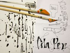 cola pen  Inksplash workshop by 'smil, via Flickr
