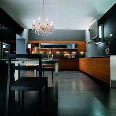 arrital methra modern kitchen black interior