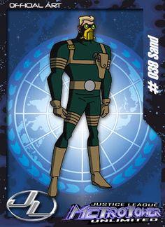 Sand -Membro da Liga da Justiça. Aparece apenas como figurante na série.