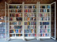Open | Flickr - Photo Sharing! Ikea Billy Bookcase, Bookshelves, Bookcase With Glass Doors, Home Libraries, Home Improvement, Sweet Home, Interior Design, Ikea Ikea, Furniture