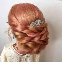 Romantic updo by Lala's updos