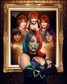 Wrestling Stars, Wrestling Divas, Women's Wrestling, Kana Wrestler, Wwe Female Wrestlers, Divas Wwe, Japanese Wrestling, Ranger, Before I Forget