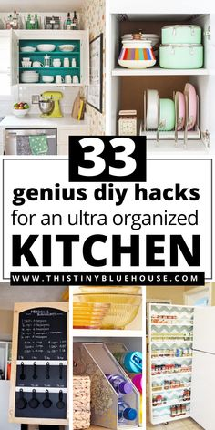 Tidy Kitchen, Messy Kitchen, Kitchen Storage, Kitchen Ideas, Organized Kitchen, Kitchen Hacks, Household Organization, Home Organization Hacks, Pantry Organization