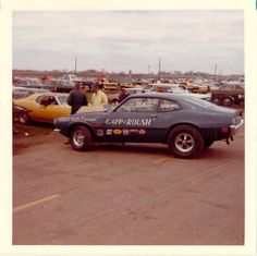 Vintage Drag Racing - Pro Stock - The Gapp & Roush Ford Maverick
