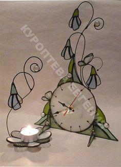"""Часы для дома ручной работы. Ярмарка Мастеров - ручная работа Часы """"Весеннее время"""". Handmade."""