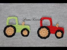 How To Make A Crocheted Pick-Up Truck Applique - DIY Crafts Tutorial - Guidecentral - YouTube
