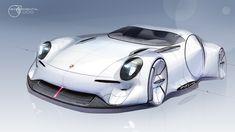 Porsche on Behance Maserati, Ferrari, Mercedes Concept, Porsche, Audi, I Give Up, Transportation Design, Automotive Design, Concept Cars
