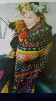 Fair Isle Knitting Patterns, Fair Isle Pattern, Knitting Designs, Knit Patterns, Fair Isle Chart, Icelandic Sweaters, Knit Art, Textile Artists, Wearable Art