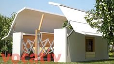 This Folding Home Assembles Itself In Eight Minutes
