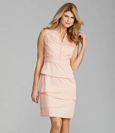 Antonio Melani-Clara Tiered Sateen Dress. Classy but different... love it!
